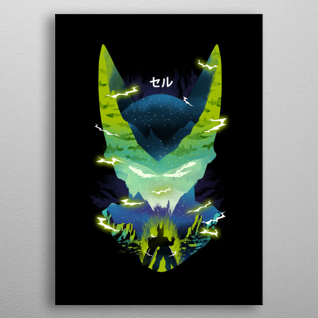 The Perfect Cell metal poster
