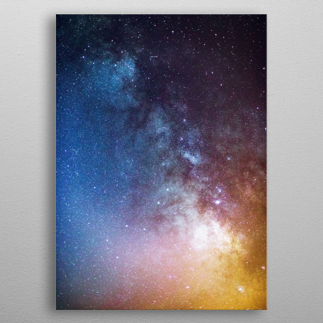 Stars Above metal poster