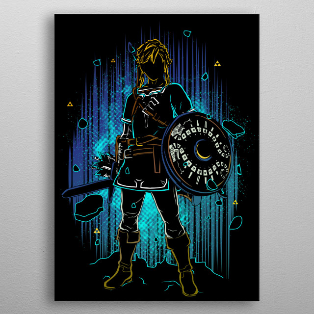 High-quality metal print from amazing Shadow collection will bring unique style to your space and will show off your personality. metal poster