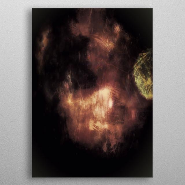 Spirit Boy metal poster