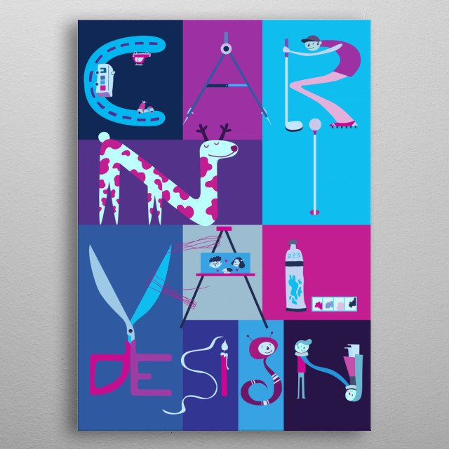Fascinating  metal poster designed with love by sam0429. Decorate your space with this design & find daily inspiration in it. metal poster