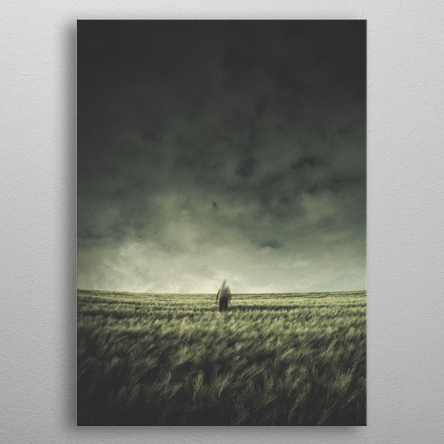 Field of the Lonely One metal poster