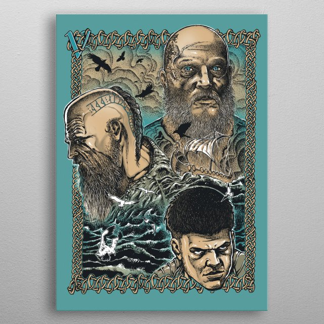Love, Legacy, the Legend metal poster