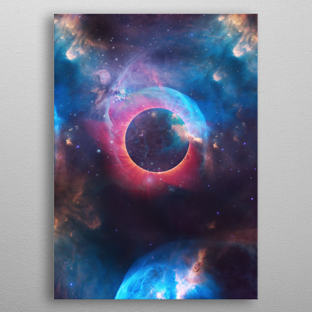 High-quality metal print from amazing Space Worlds collection will bring unique style to your space and will show off your personality. metal poster