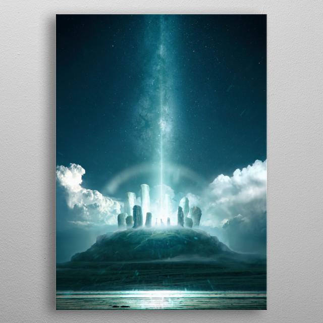 Divinity metal poster