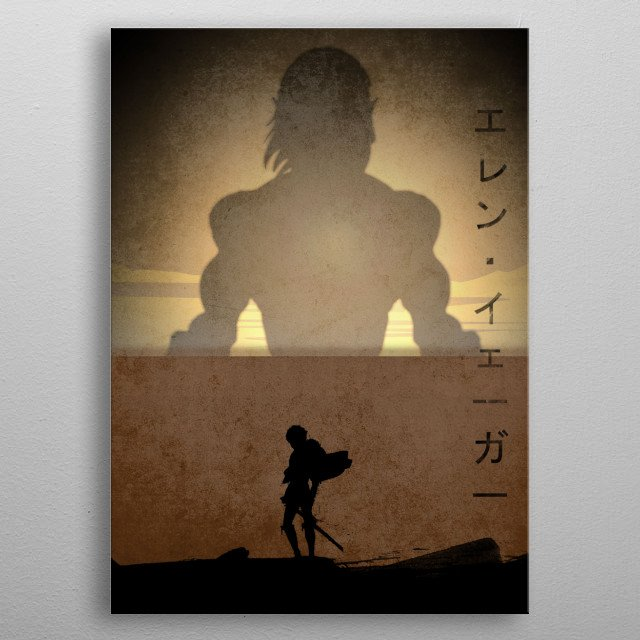 Fascinating metal poster designed by anm diz. Displate has a unique signature and hologram on the back to add authenticity to each design. metal poster