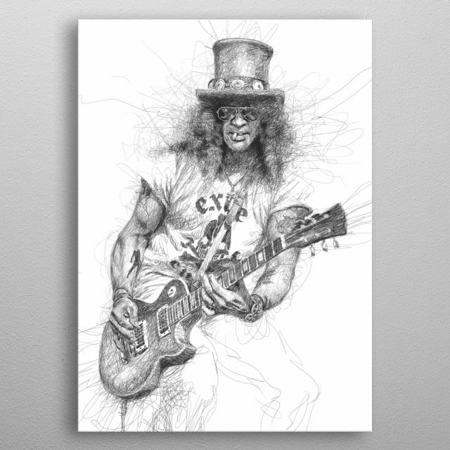 Slash metal poster