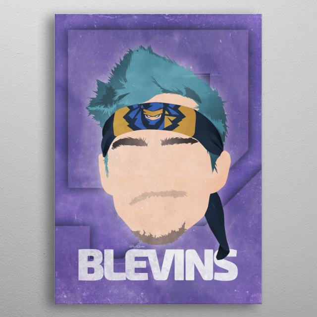 Tyler Blevins [Ninja] metal poster