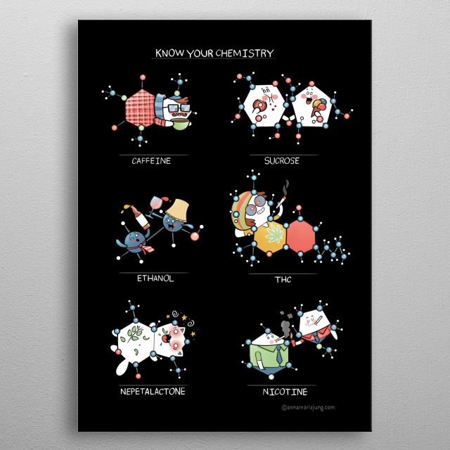 For science & chemistry lovers! :D metal poster