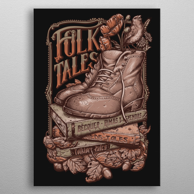 Fascinating  metal poster designed with love by medusadollmaker. Decorate your space with this design & find daily inspiration in it. metal poster