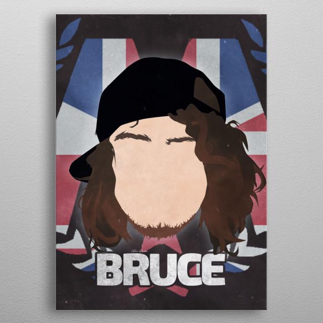 Ben Bruce - Asking Alexandria metal poster