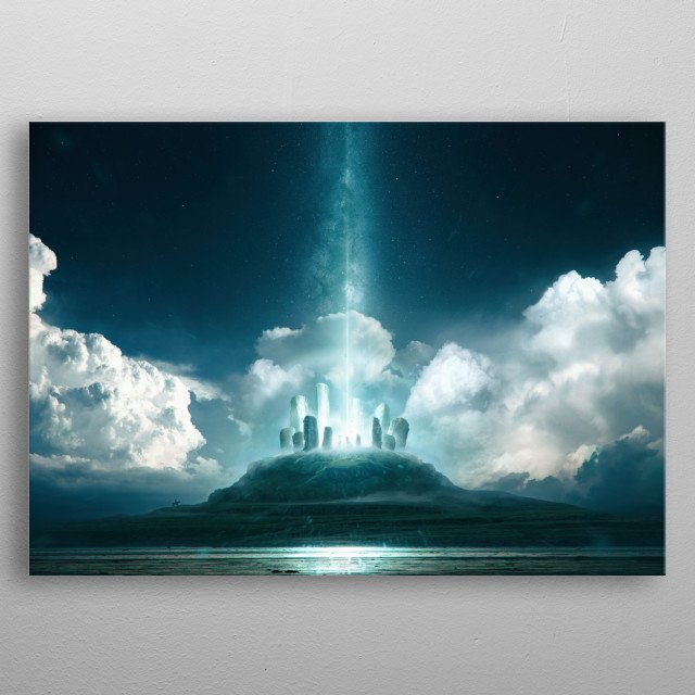 High-quality metal wall art meticulously designed by taenaron would bring extraordinary style to your room. Hang it & enjoy. metal poster