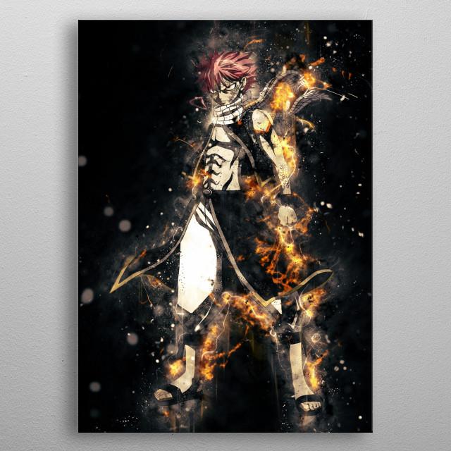 natsu metal poster
