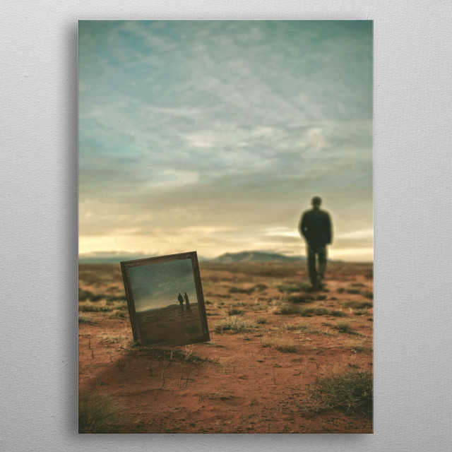 Fascinating metal poster designed by Michael Vincent Manalo. Displate has a unique signature and hologram on the back to add authenticity to each design. metal poster