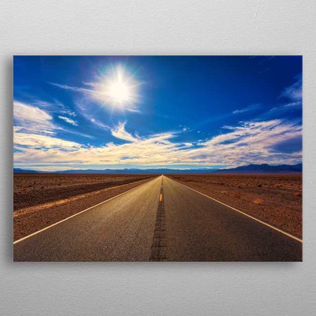 This marvelous metal poster designed by TheArt to add authenticity to your place. Display your passion to the whole world. metal poster
