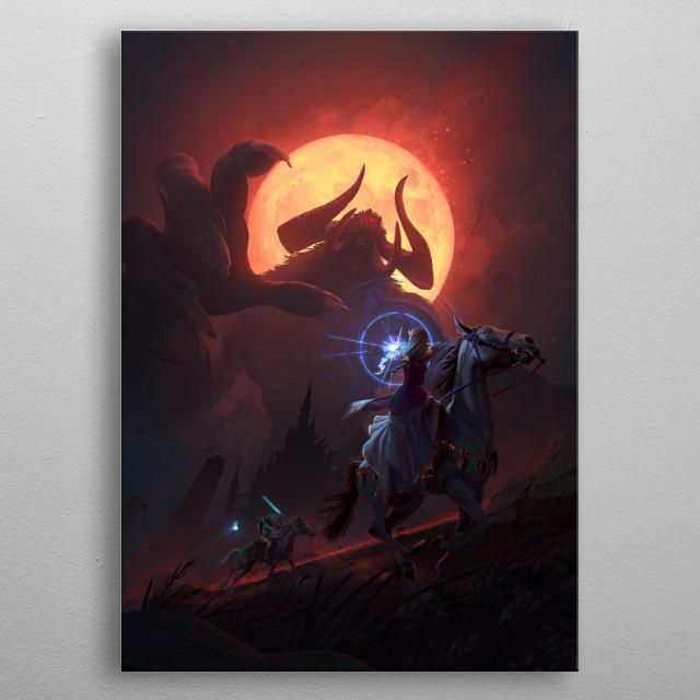 Eternal Battle metal poster