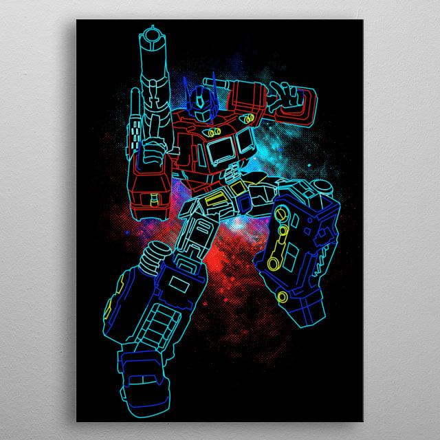 Prime Art metal poster