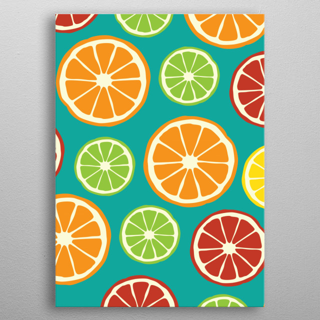High-quality metal print from amazing Abstract Pattern collection will bring unique style to your space and will show off your personality. metal poster