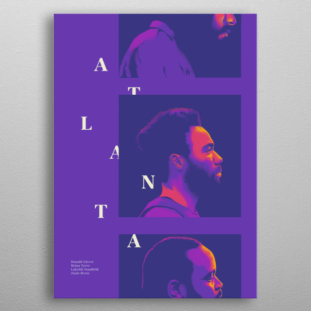 Atlanta metal poster
