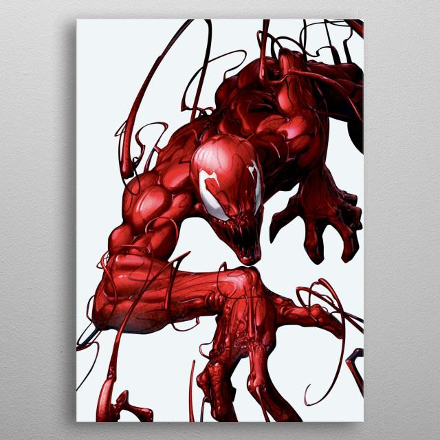 Carnage metal poster