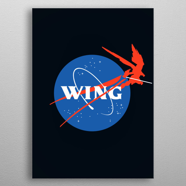 Mecha Aeronautics metal poster