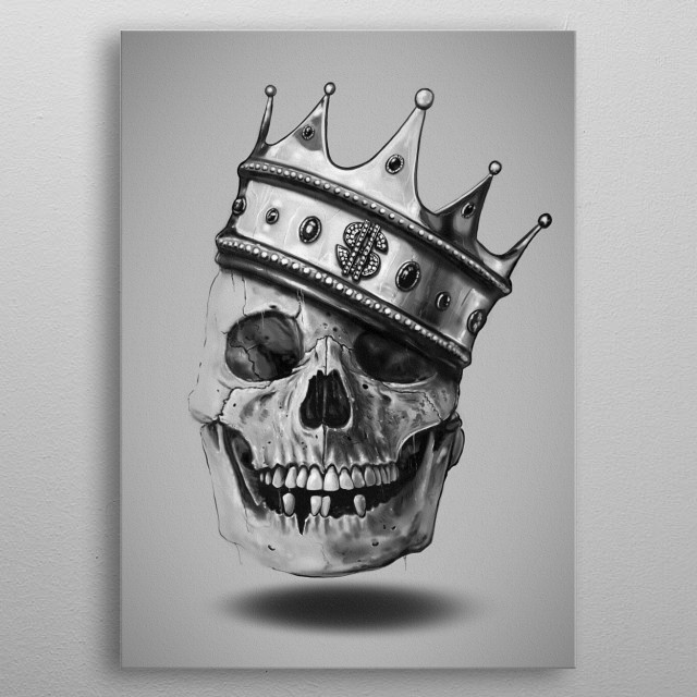 Fascinating  metal poster designed with love by nicebleed. Decorate your space with this design & find daily inspiration in it. metal poster