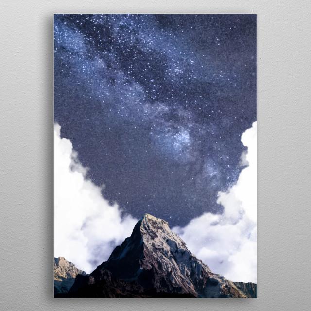 Magical Night II (Milky Way)  metal poster