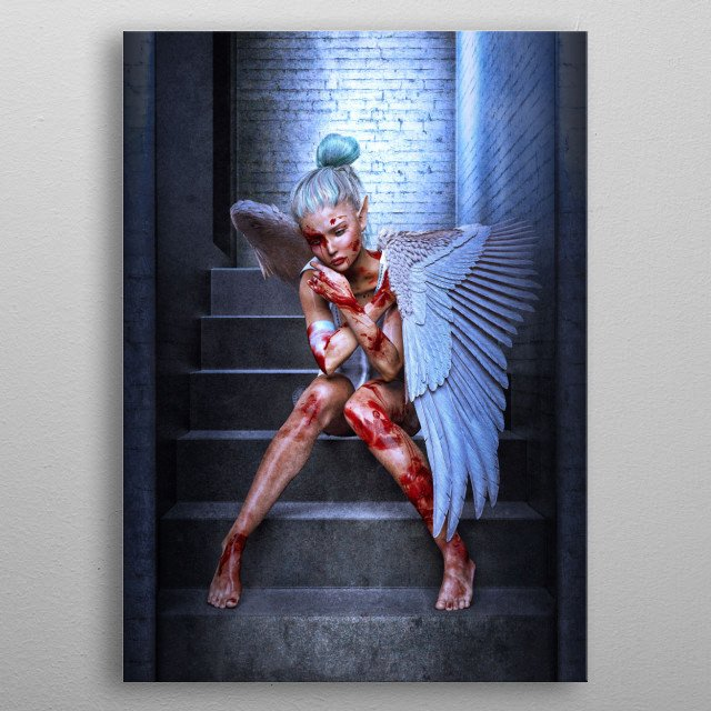 This marvelous metal poster designed by Thorsten_Schmitt to add authenticity to your place. Display your passion to the whole world. metal poster