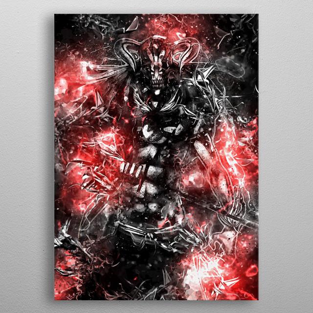 Revenge Sentiment metal poster