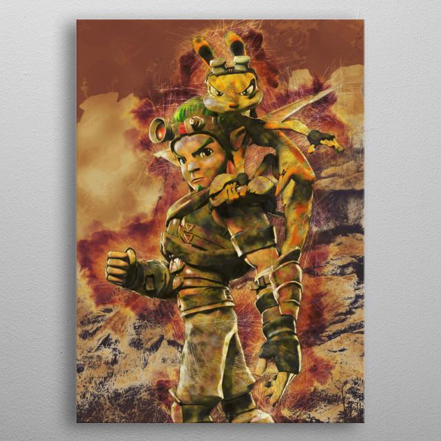 Precursor Hero 2 metal poster
