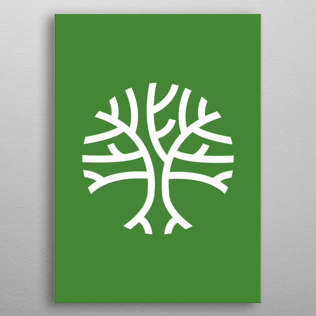 High-quality metal print from amazing Minimalismo collection will bring unique style to your space and will show off your personality. metal poster