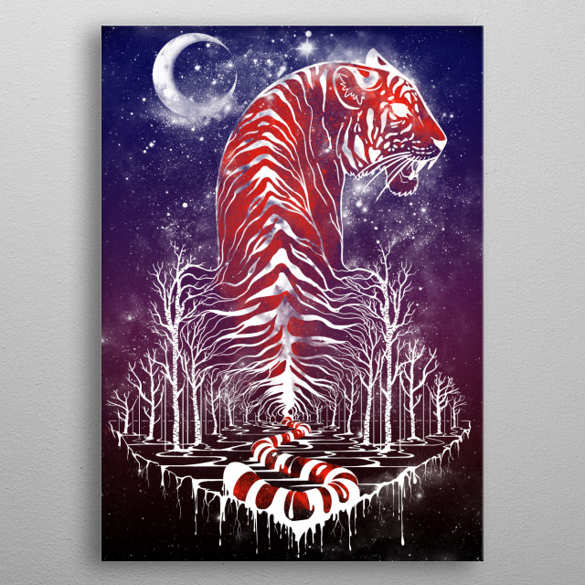 Eye of the Forest metal poster
