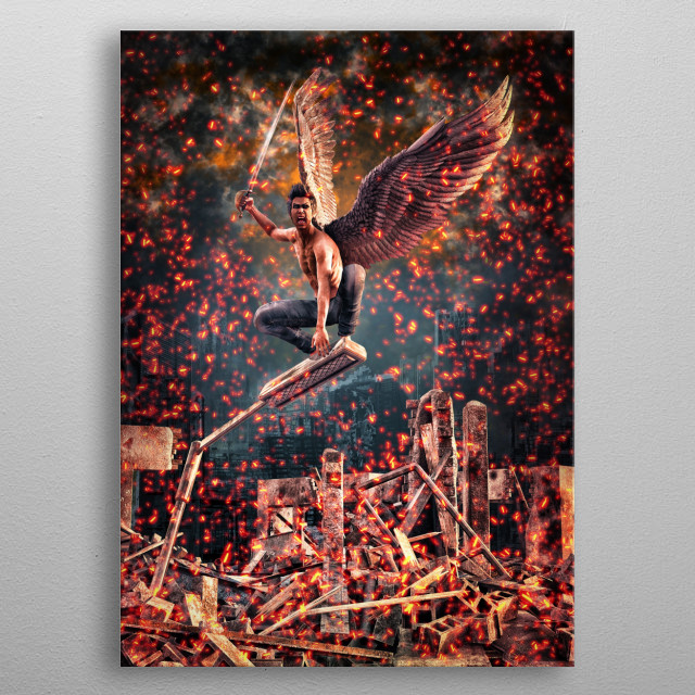 High-quality metal wall art meticulously designed by Thorsten_Schmitt would bring extraordinary style to your room. Hang it & enjoy. metal poster