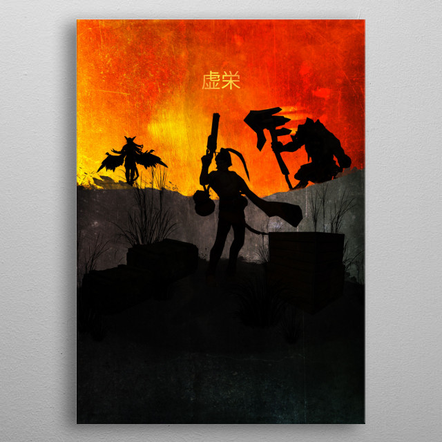 VainGlory - Limited Edition metal poster