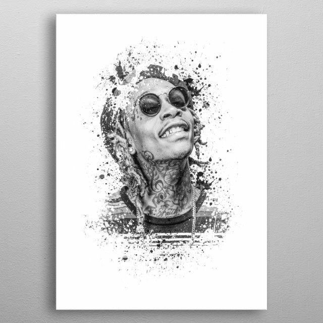 High-quality metal print from amazing Music World collection will bring unique style to your space and will show off your personality. metal poster
