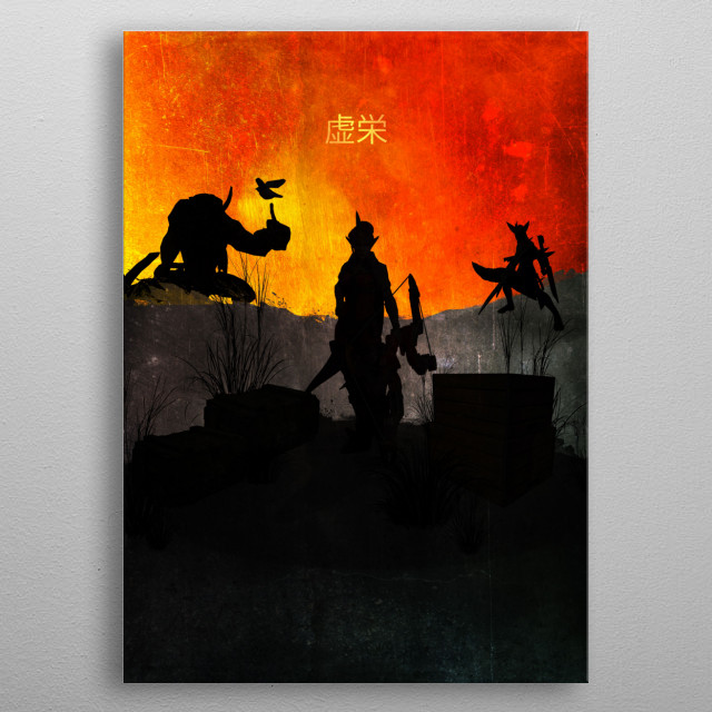 This marvelous metal poster designed by fando01 to add authenticity to your place. Display your passion to the whole world. metal poster