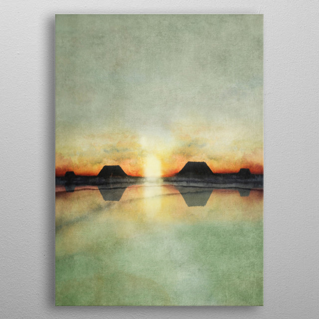 High-quality metal print from amazing Watercolor Paintings collection will bring unique style to your space and will show off your personality. metal poster