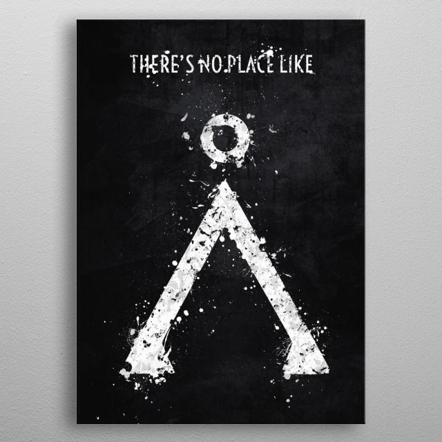 Stargate Variation - Request metal poster