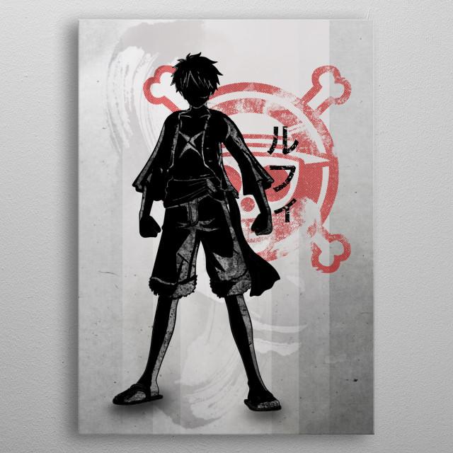 Crimson Pirate King metal poster