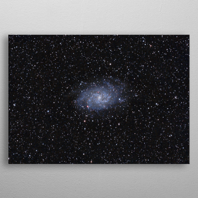 High-quality metal print from amazing Astrophotography collection will bring unique style to your space and will show off your personality. metal poster