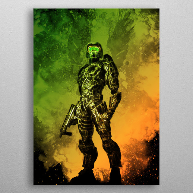 High-quality metal print from amazing Soul Of Heroes collection will bring unique style to your space and will show off your personality. metal poster