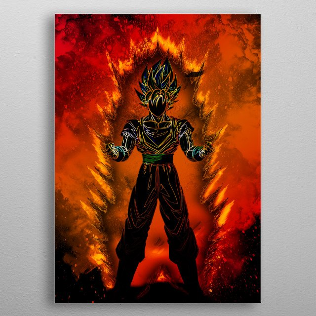 Fascinating metal poster designed by Donnie . Displate has a unique signature and hologram on the back to add authenticity to each design. metal poster