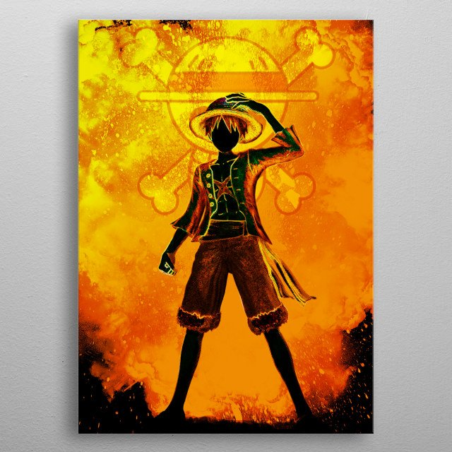 The Soul of the pirate metal poster