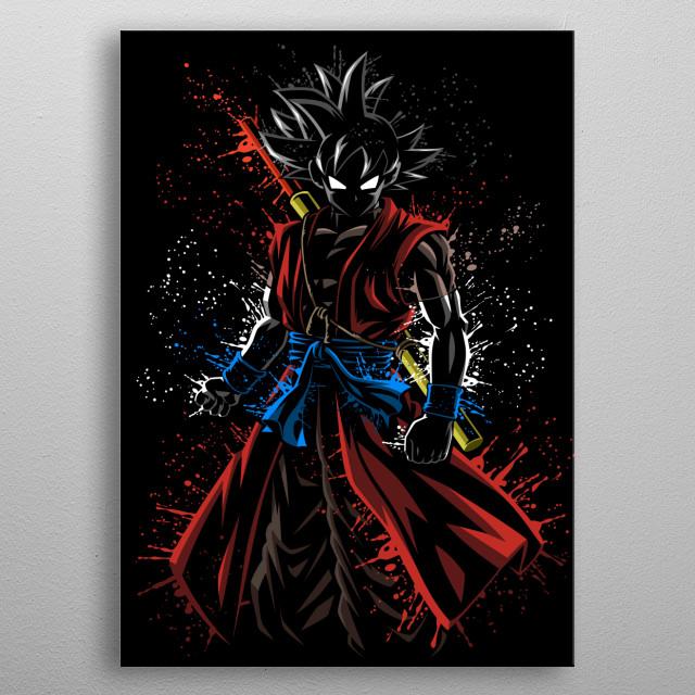 Splatter Xeno metal poster
