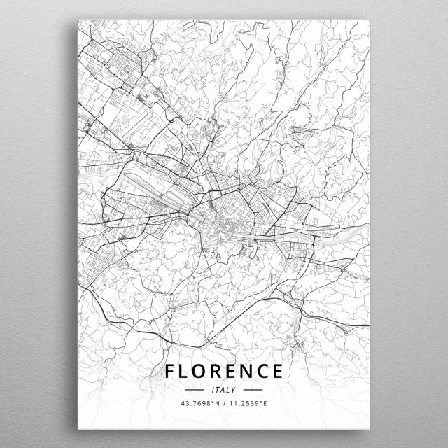 Florence, Italy metal poster