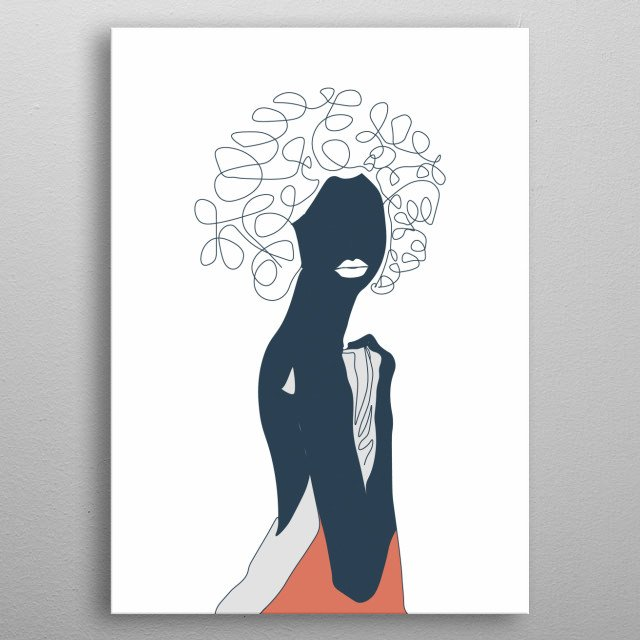 Fascinating  metal poster designed with love by draw4you. Decorate your space with this design & find daily inspiration in it. metal poster