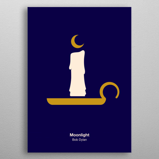 High-quality metal print from amazing Pictogram Music Posters collection will bring unique style to your space and will show off your personality. metal poster