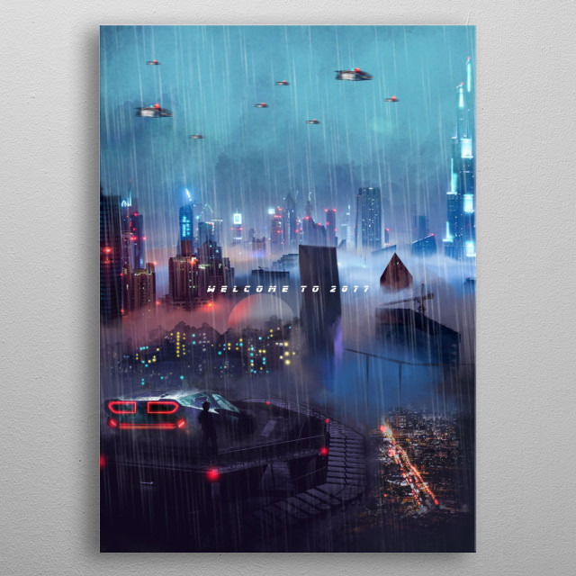 Welcome to 2077 | Pt. 2 | metal poster