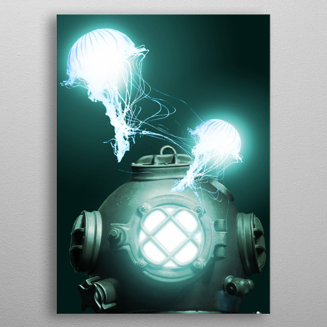 This marvelous metal poster designed by snisovik to add authenticity to your place. Display your passion to the whole world. metal poster