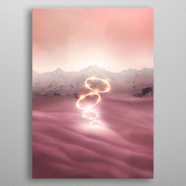 2077 landscape V metal poster